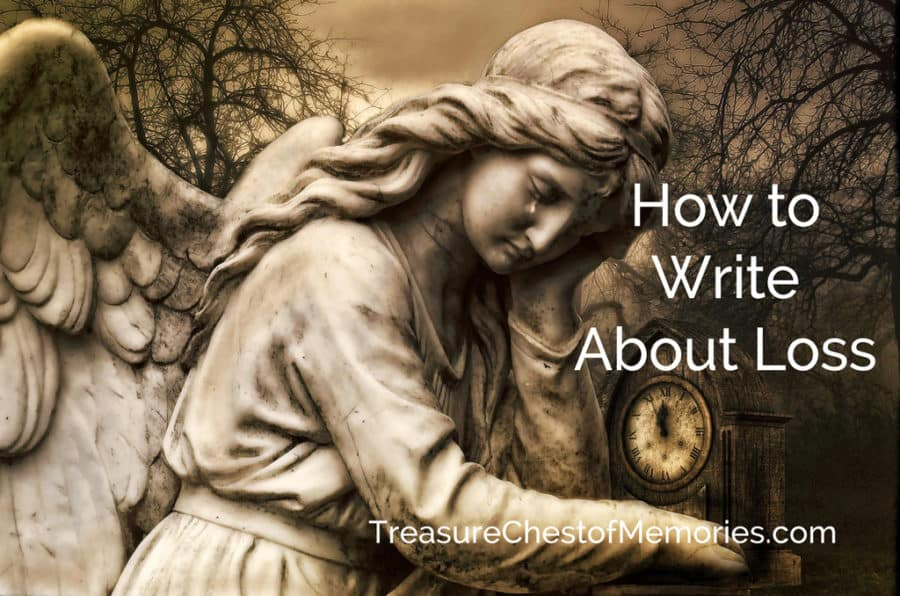 How to Write about Loss Graphic with angel
