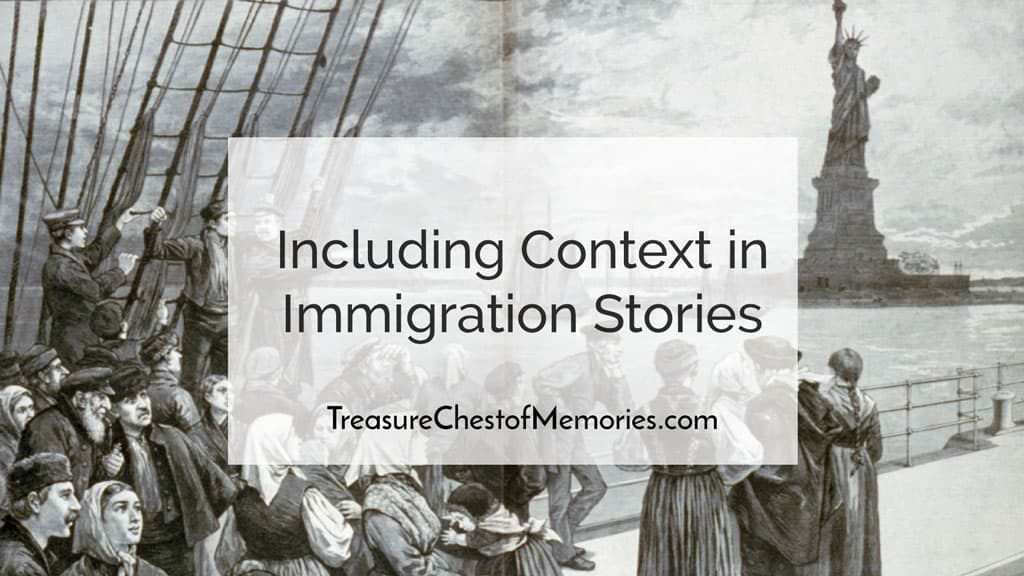 Including context in Immigration stories