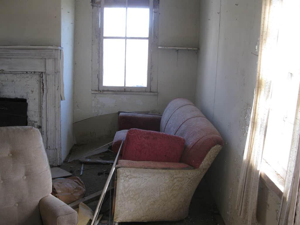 Inside my grandparents' house