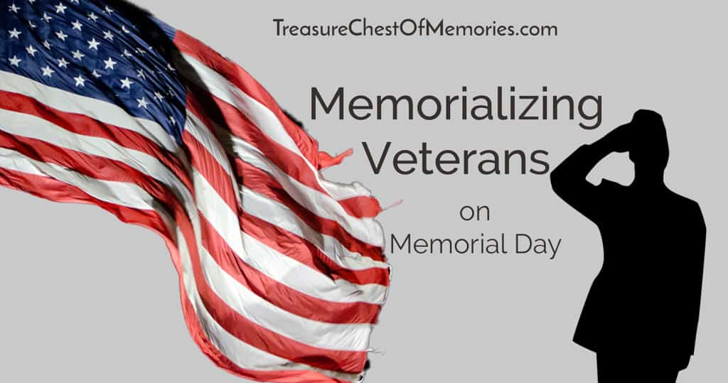 Memorializing Veterans on Memorial Dy