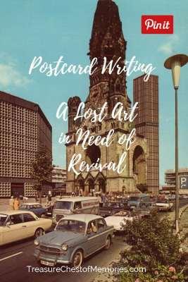 Postcard Writing Pinnable Image