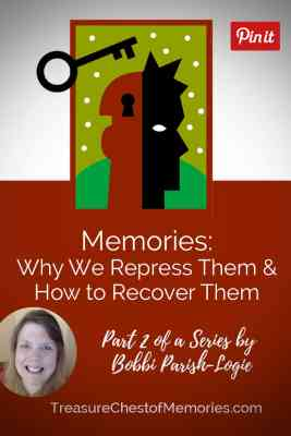 Recovering Repressed Memories Graphic with photo of author