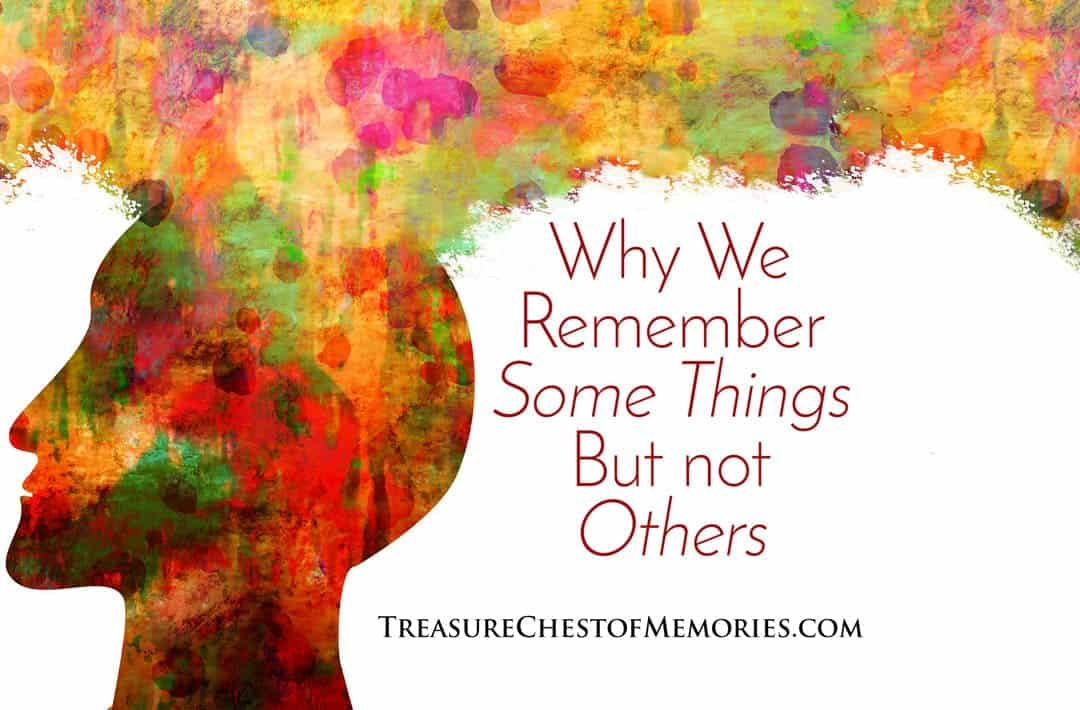 Remember some things but not others graphic