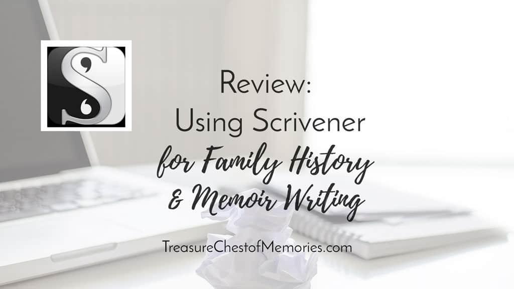 Reveiw Using Scrivener Graphic
