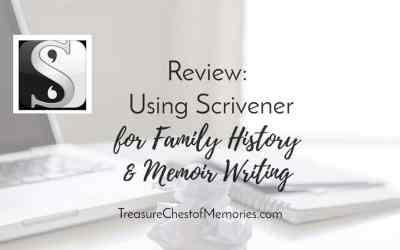 Review: Using Scrivener for Family History and Memoir Writing