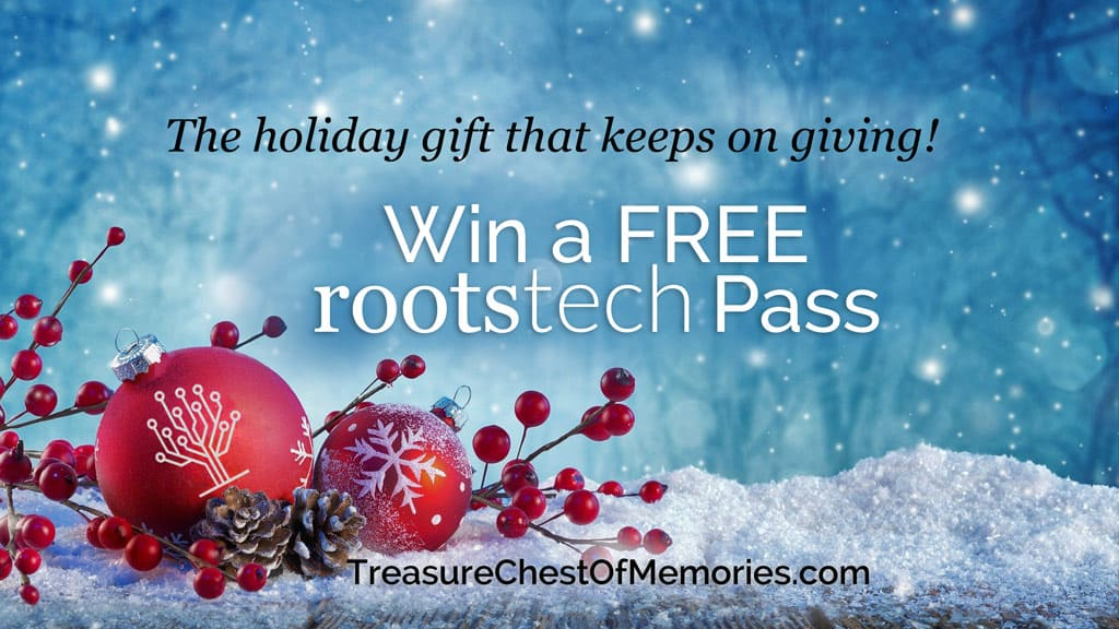 Win a Free RootsTech 2020 Pass