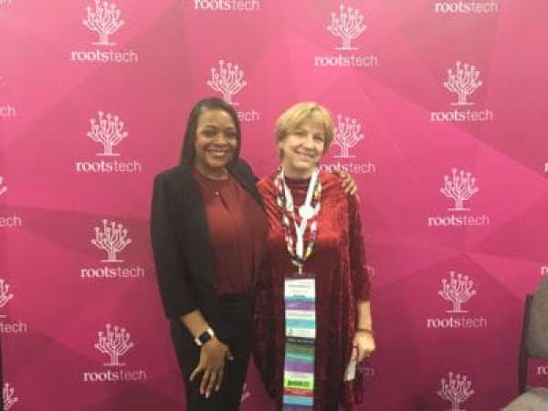 Kenyatta Berry at RootsTech