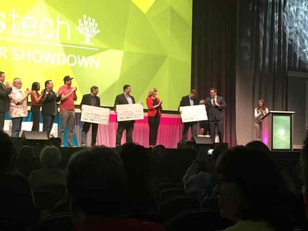 Rootstech Taking part of the Innovators Showdown