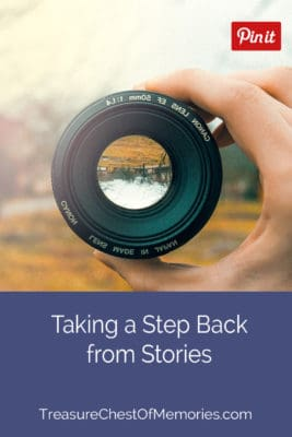 Taking a step back from stories pinnable image