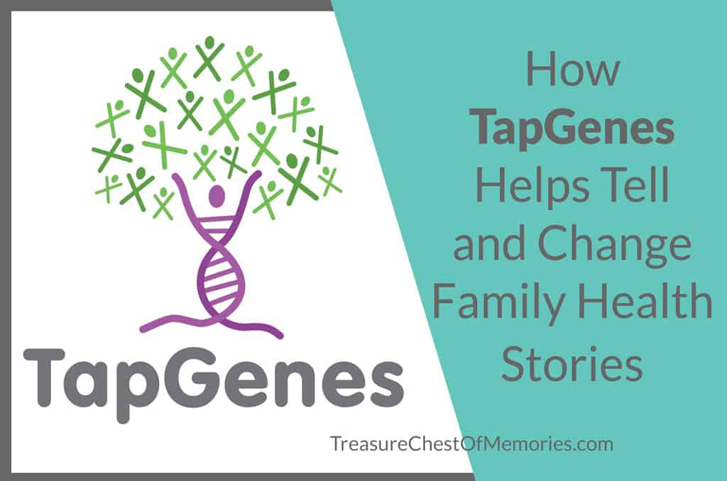 Tap Genes and Family Health Stories