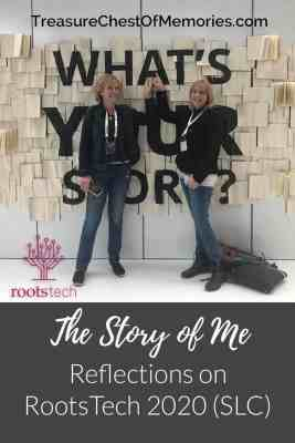The story of Me: Reflections on Rootstech 2020