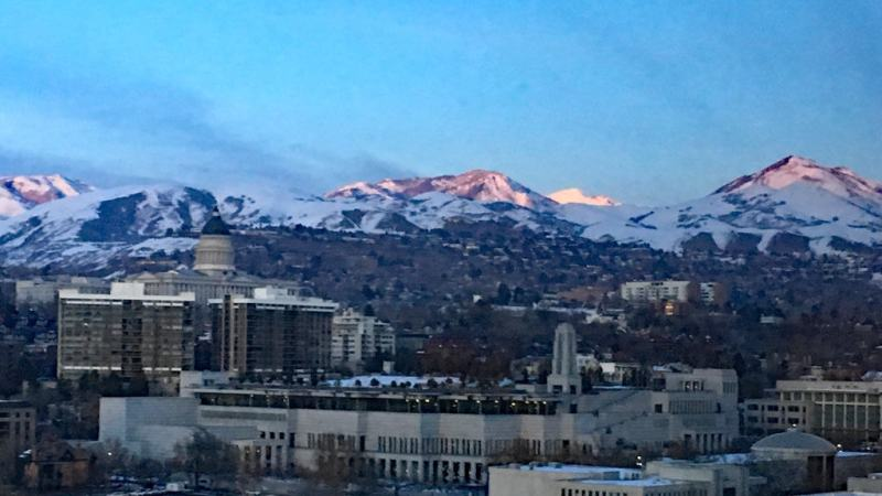 View of Mountains for ROotstech 2020