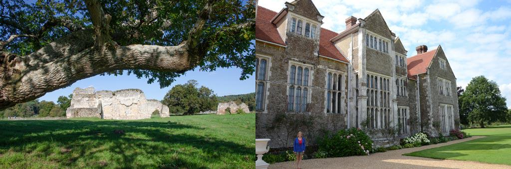 Comparison of Waverley Abbey and Loseley Park