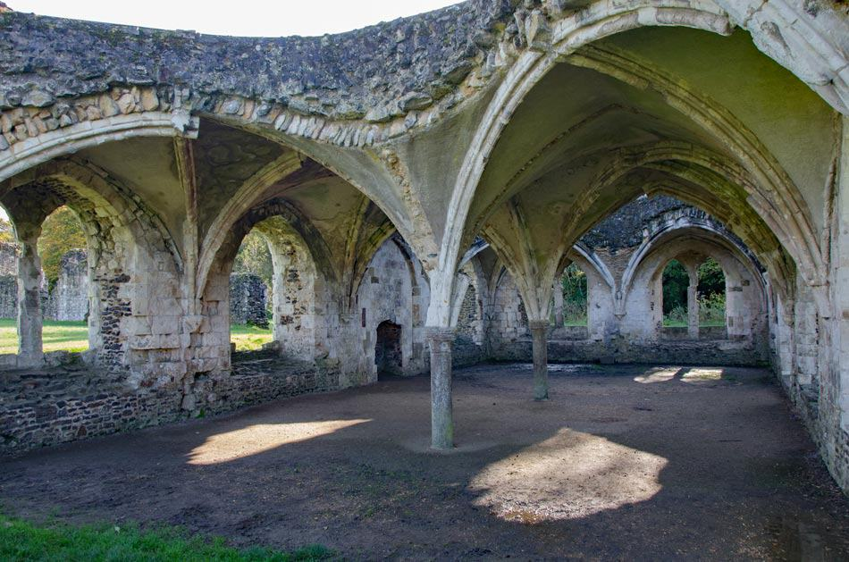 Waverley Abbey Dormitory