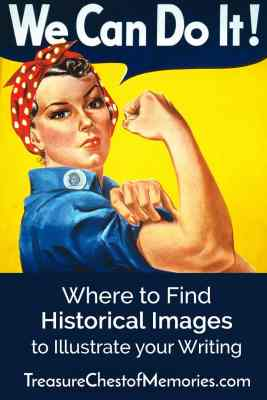 Pinnable image about historical images Rosie the Riveter