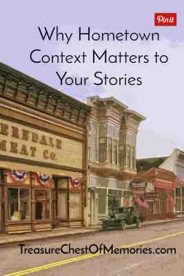 Why Hometown Context matters to your stories