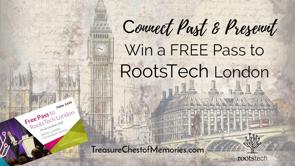 Feww pass to RootsTech London graphic