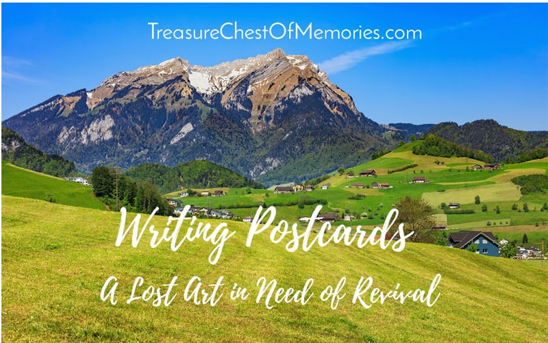 Writing Postcards: A Lost Art in Need of Revival