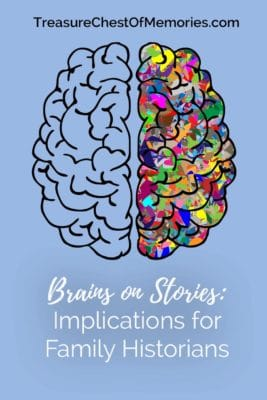 bRAINS ON STORIES IMPLICATIONS FOR fAMILY hISTORIANS PINNABLE GRAPHIC