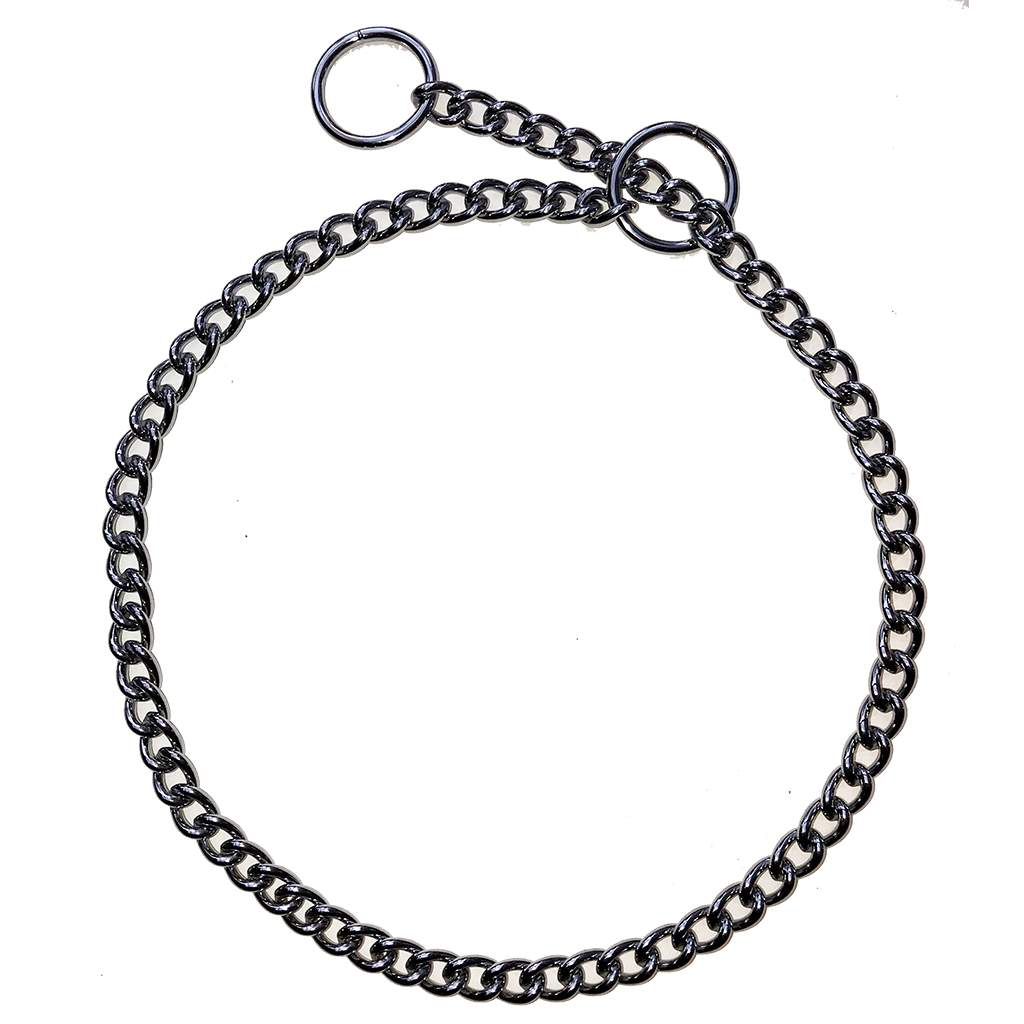 Show/Training Chain Curb Link Choke Collars 2.5mm (heavy)