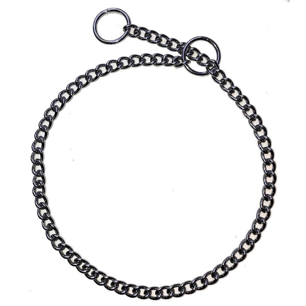 Show/Training Chain Curb Link Choke Collars 2.5mm (heavy)