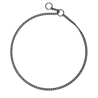 Show Chain Jewller's Link Choke Collars 1.35mm (xfine)