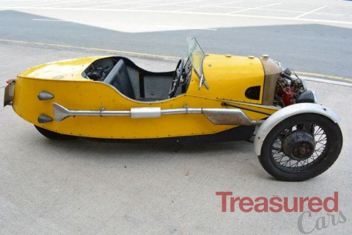 1933 Morgan Three Wheeler Classic Cars For Sale Treasured Cars
