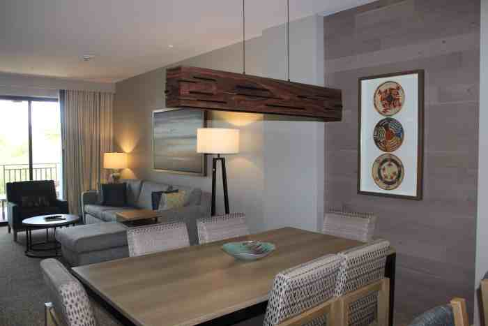 Dining room in the Westin Kierland one-bedroom villa
