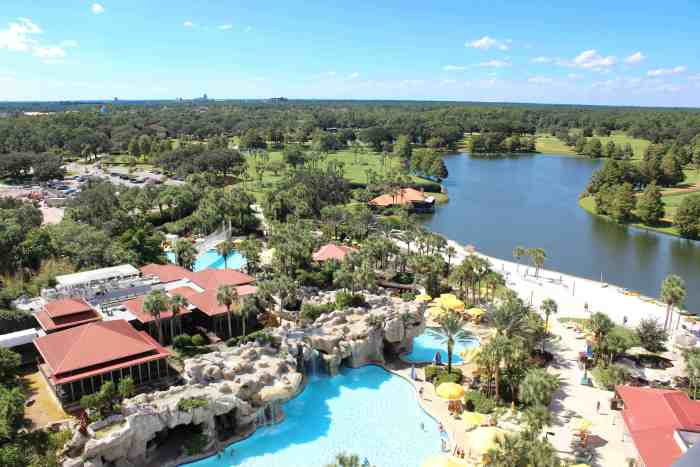 View from our room in the Hyatt Regency Grand Cypress review