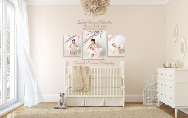 baby collection - Fine Art Canvas