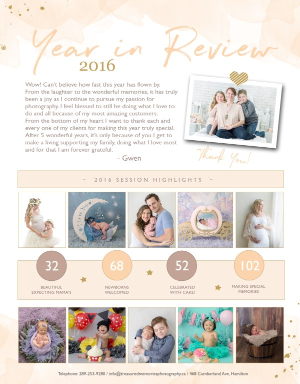 Photography Year in Review - 2016