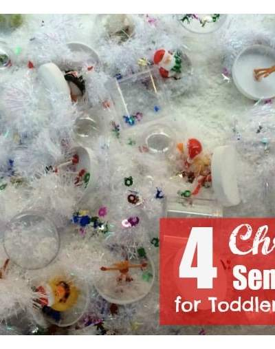 4 Christmas Sensory Tables for Toddlers to Tweens