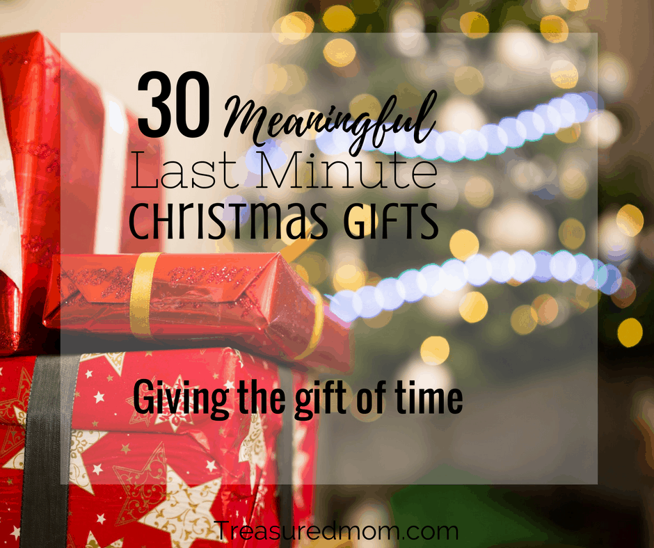 are you trying to figure out some meaningful last minute christmas gifts read here to