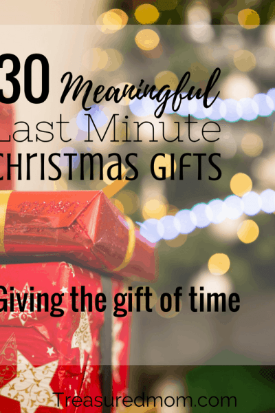 30 Meaningful Last Minute Christmas Gifts