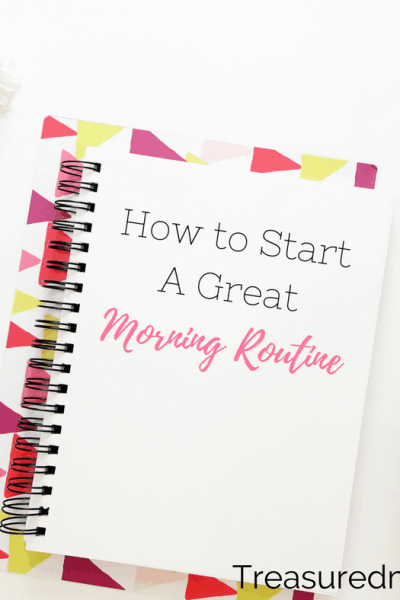 Calendar, desk, and pens for how to start a great morning routine