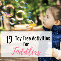 19 Simple Toy-Free Toddler Activities