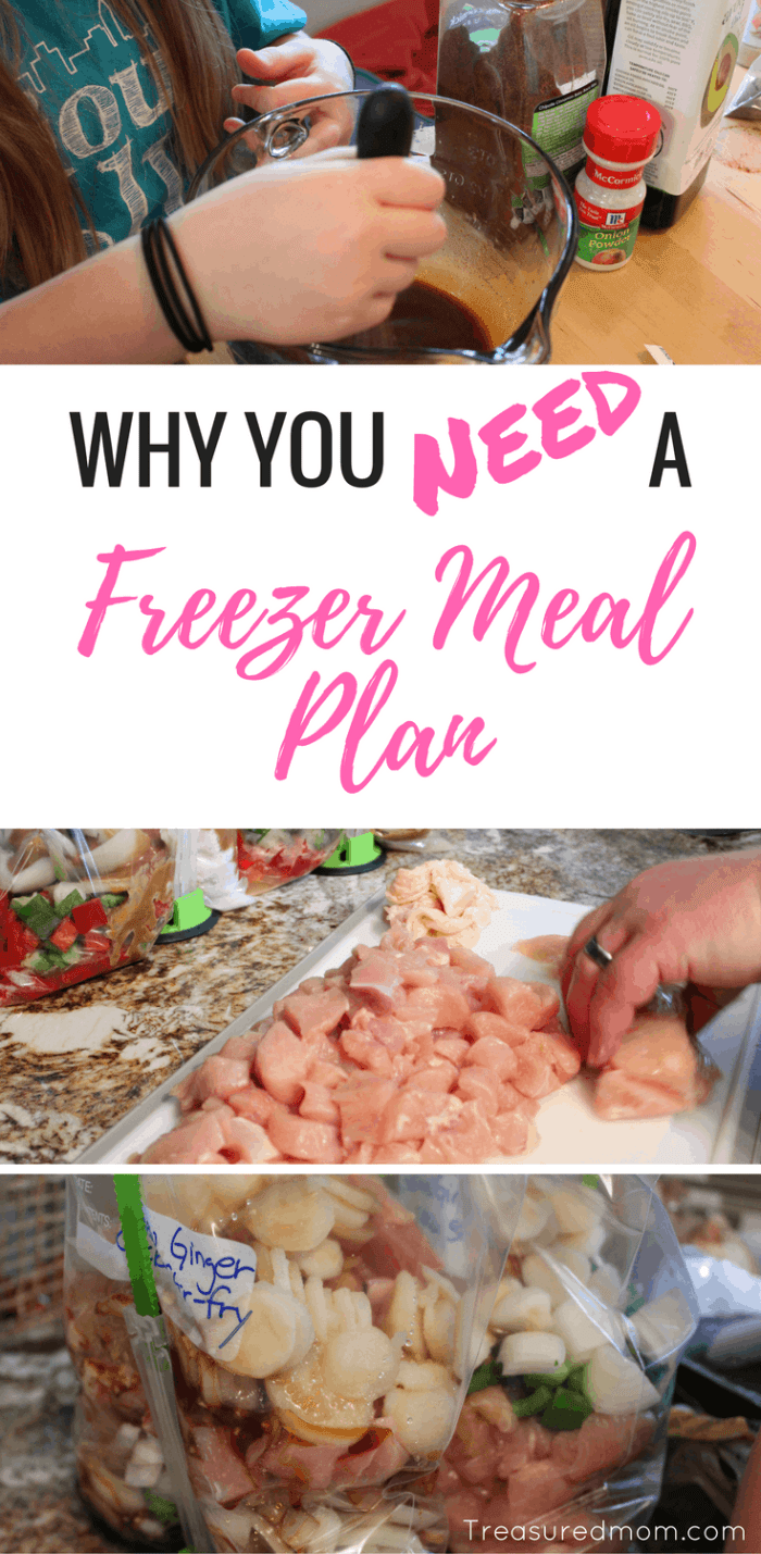 Freezer Meals save us all so much time! Read here why you need to start with a Freezer Meal Plan for the best session ever!