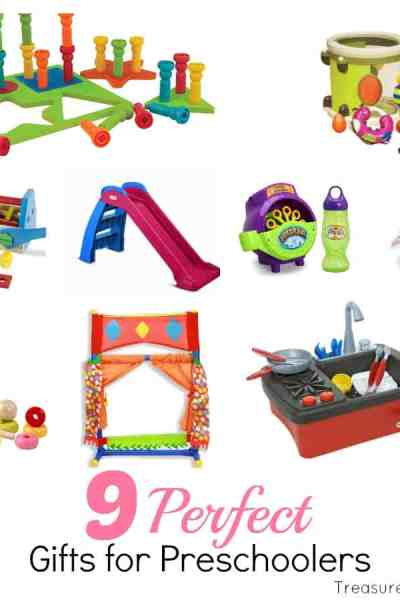 9 Perfect Gifts For Preschoolers