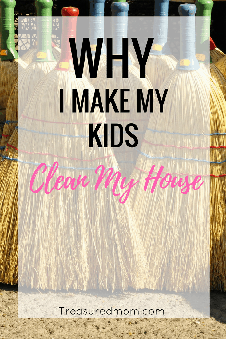 It is so important to teach your kids to clean the house. Read here about many of the reasons.