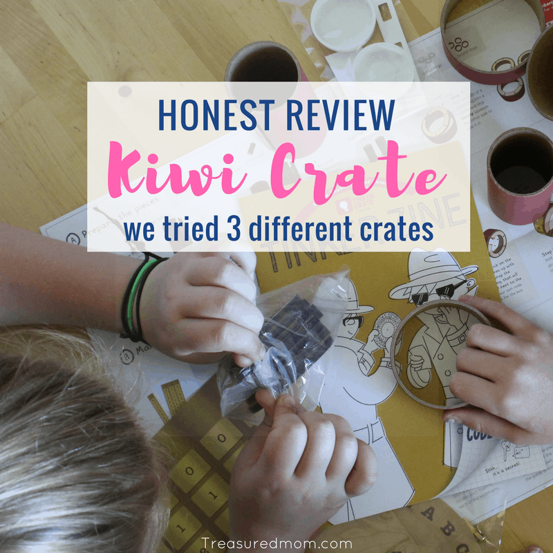 Have you tried Kiwi Co yet? Looking for an honest Kiwi Co Review? Look at all the fun our family is having with Kiwi Crate, Doodle Crate, and Tinker Crate. These are great fun family activities.