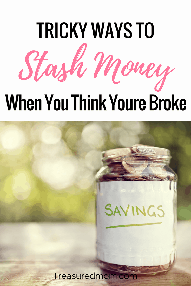 When you think you're broke, knowing How to Stash Money can really get you out of a jam or build your emergency savings account. Look at these tricky ways to save money or hide money.