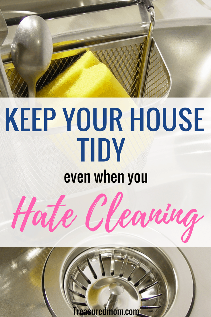 how to keep house clean and neat