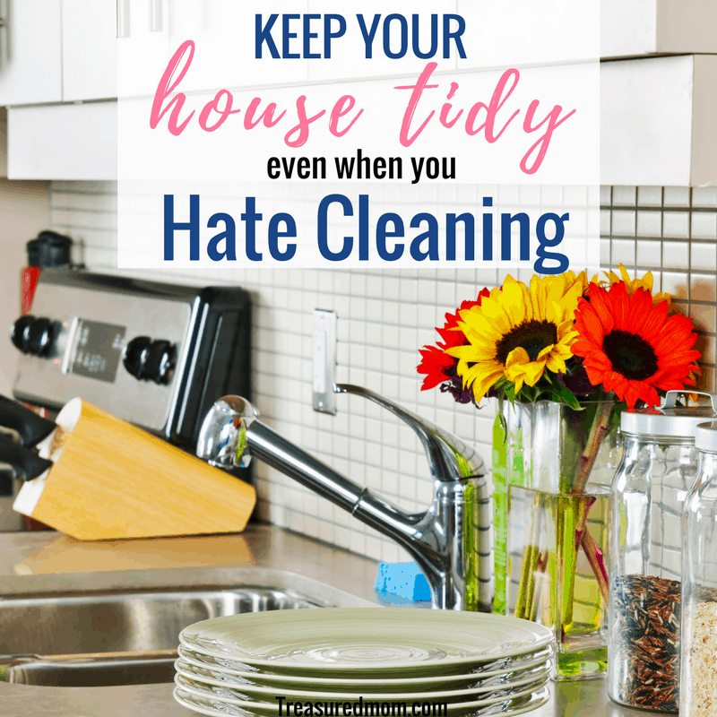 It may feel impossible to keep your house tidy when you hate to clean, but you can do it. Learn cleaning hacks and house cleaning tips here.