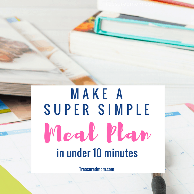 I hate the time it takes to make a meal plan. This Super Easy Meal Plan is making life so easy and saving me a ton of money.
