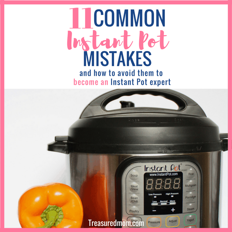 You'll want to avoid these Common Instant Pot Mistakes to get your meals on the table fast. In this helpful article you'll find tips, tricks and solutions to your mistakes. They work for any electric pressure cooker.