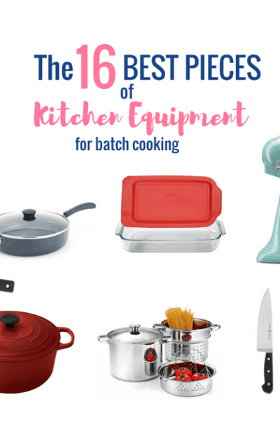 The Best Kitchen Equipment for Batch Cooking