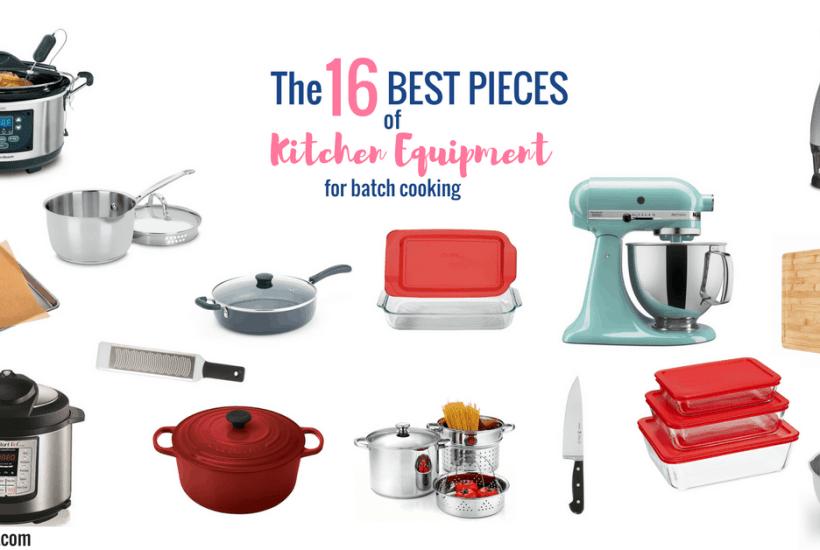 instant pot, slow cooker, kitchen aid, saute pan, le creuset, microplane, food chopper, saucepan, pasta pot, pyrex, glass storage