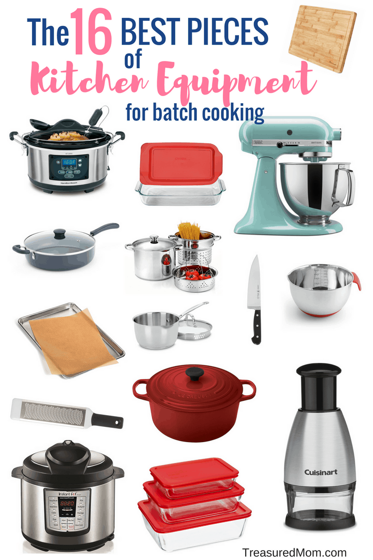 This is a great list of kitchen equipment for anyone. It includes essentials for cooking and food storage, too. Whether you're a new cook or you've been at it for ages, you'll find what you need here.