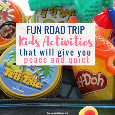 road trip activities for kids, games and toys