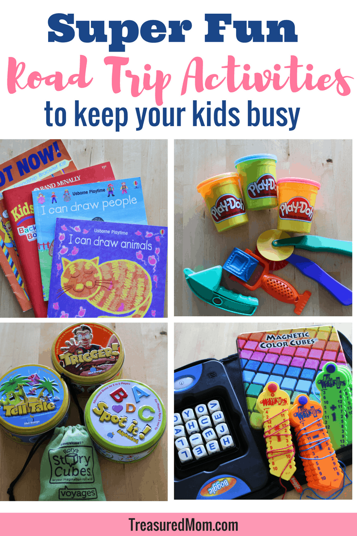 Do you need some road trip activities for kids to take on your next long car ride? Here's where you'll find lots of fun ideas and tips for how to pack it up.  Learn from a family who's been there.